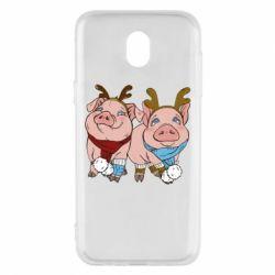 Чохол для Samsung J5 2017 Pigs