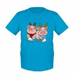 Дитяча футболка Pigs