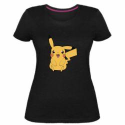 Женская стрейчевая футболка Pika Pika