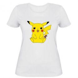 Женская футболка Pika