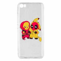 Чехол для Xiaomi Mi5/Mi5 Pro Pikachu and deadpool