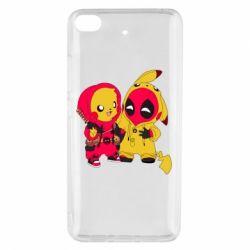 Чехол для Xiaomi Mi 5s Pikachu and deadpool