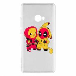 Чехол для Xiaomi Mi Note 2 Pikachu and deadpool