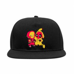 Снепбек Pikachu and deadpool