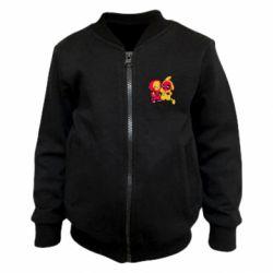 Детский бомбер Pikachu and deadpool