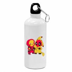 Фляга Pikachu and deadpool