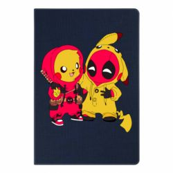 Блокнот А5 Pikachu and deadpool