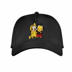 Детская кепка Пикачу и Микки Маус