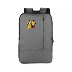 Рюкзак для ноутбука Пикачу и Микки Маус