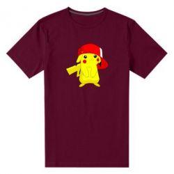 Мужская стрейчевая футболка Pikachu in a cap