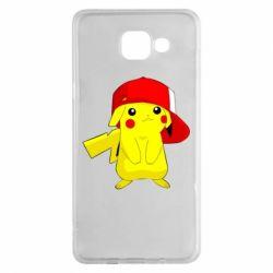 Чехол для Samsung A5 2016 Pikachu in a cap