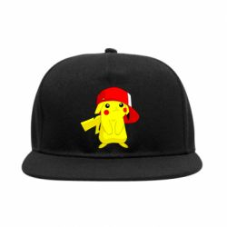 Снепбек Pikachu in a cap