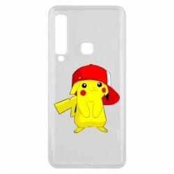 Чехол для Samsung A9 2018 Pikachu in a cap