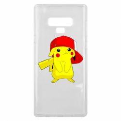 Чехол для Samsung Note 9 Pikachu in a cap