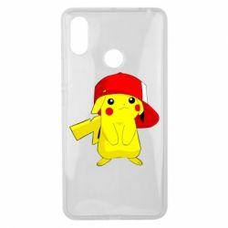 Чехол для Xiaomi Mi Max 3 Pikachu in a cap