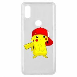 Чехол для Xiaomi Mi Mix 3 Pikachu in a cap