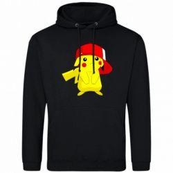 Мужская толстовка Pikachu in a cap