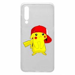 Чехол для Xiaomi Mi9 Pikachu in a cap