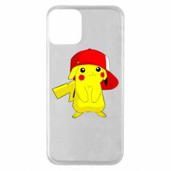 Чехол для iPhone 11 Pikachu in a cap