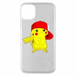 Чехол для iPhone 11 Pro Pikachu in a cap
