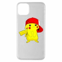 Чехол для iPhone 11 Pro Max Pikachu in a cap