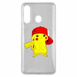 Чехол для Samsung M40 Pikachu in a cap