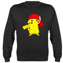 Реглан (свитшот) Pikachu in a cap