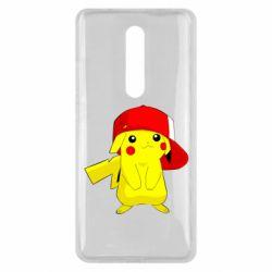 Чехол для Xiaomi Mi9T Pikachu in a cap