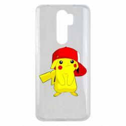 Чехол для Xiaomi Redmi Note 8 Pro Pikachu in a cap