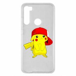 Чехол для Xiaomi Redmi Note 8 Pikachu in a cap