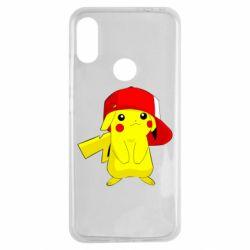Чехол для Xiaomi Redmi Note 7 Pikachu in a cap