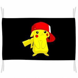 Флаг Pikachu in a cap