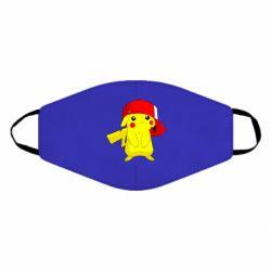 Маска для лица Pikachu in a cap
