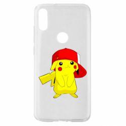 Чехол для Xiaomi Mi Play Pikachu in a cap
