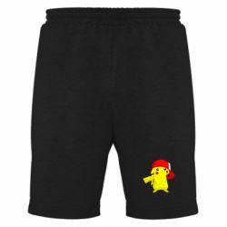 Мужские шорты Pikachu in a cap