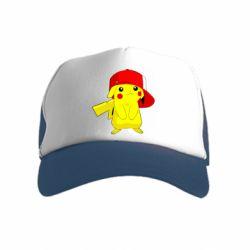 Детская кепка-тракер Pikachu in a cap