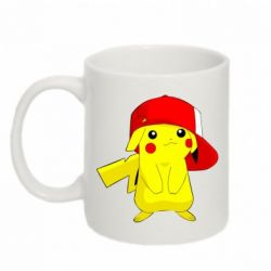 Кружка 320ml Pikachu in a cap