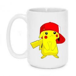 Кружка 420ml Pikachu in a cap