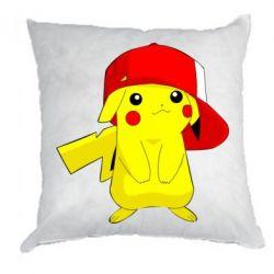 Подушка Pikachu in a cap