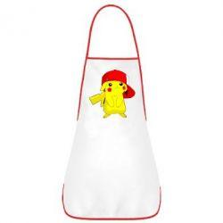 Фартук Pikachu in a cap