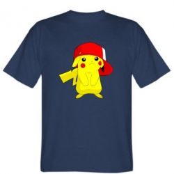 Футболка Pikachu in a cap