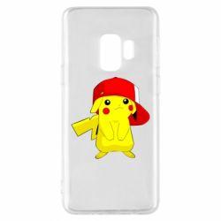 Чехол для Samsung S9 Pikachu in a cap