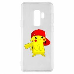 Чехол для Samsung S9+ Pikachu in a cap