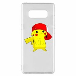 Чехол для Samsung Note 8 Pikachu in a cap