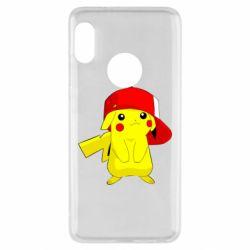 Чехол для Xiaomi Redmi Note 5 Pikachu in a cap