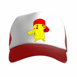 Кепка-тракер Pikachu in a cap