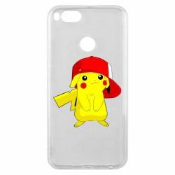 Чехол для Xiaomi Mi A1 Pikachu in a cap