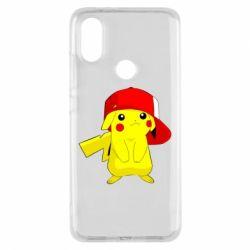 Чехол для Xiaomi Mi A2 Pikachu in a cap