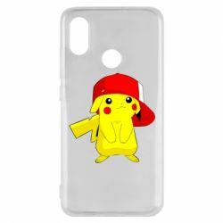 Чехол для Xiaomi Mi8 Pikachu in a cap