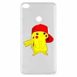 Чехол для Xiaomi Mi Max 2 Pikachu in a cap